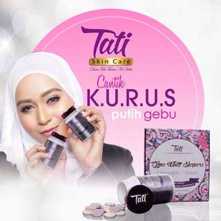 TATI GLOW WHITE SHAPERS / 30 chewable tablets.  Processing proceed upon full payment received via bank transfer