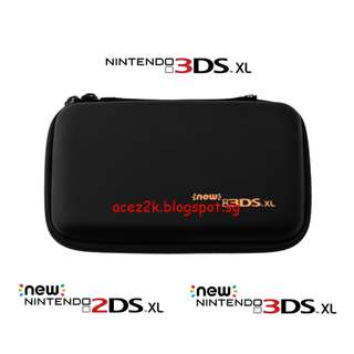 [BN] 2DS / 3DS new / XL / LL EVA Hard Carrying Pouch (Brand New)