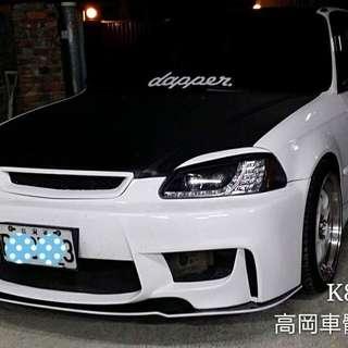 Ek4 facelift Bumper