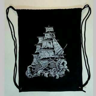 String bag / tas serut