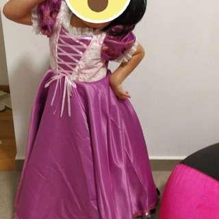 Disney Princess Dress ,rapunzel dress