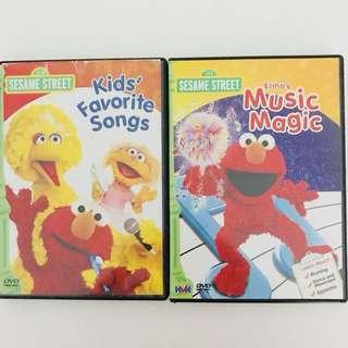 [2 for $5] Elmo DVDs