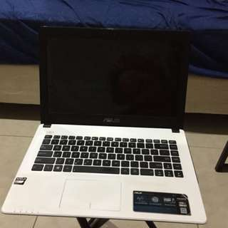 Laptop ASUS X452E Second murah