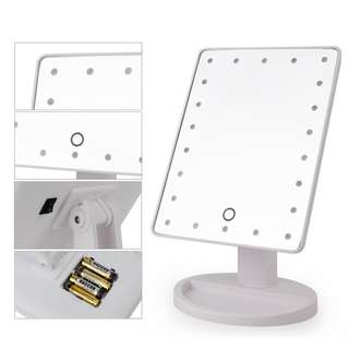 Instock 22leds leds vanity mirror led makeup mirror light make-up