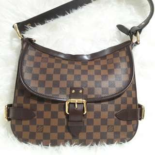 💯Authentic Louis Vuitton Highsbury Damier 👗🛍👑