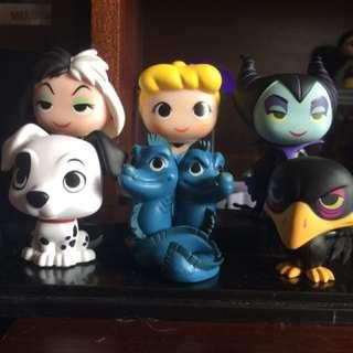 Disney Funko Mystery minis