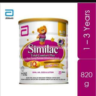 Brand New Similac Total Comfort Plus 1 - 3 years