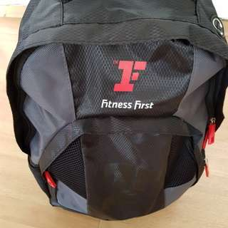 Fitness first backpack