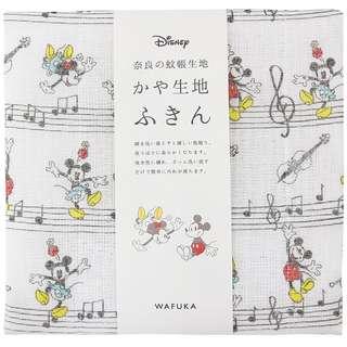 日本代購: 精品系列: (日本製) 手巾(手絹) 迪士尼 經典米奇&米妮 Classic Mickey & Minnie 款(細, 30*40cm)
