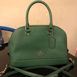 Coach crossbody bag GREEN