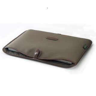 "Brand New Billingham Sage/Chocolate 15"" Laptop Slip"