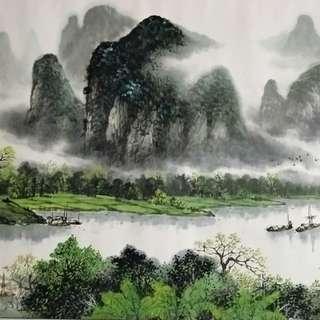 Chinese Art Painting 名家字画 山水画 花鸟画 中国画 收藏 投资 增值