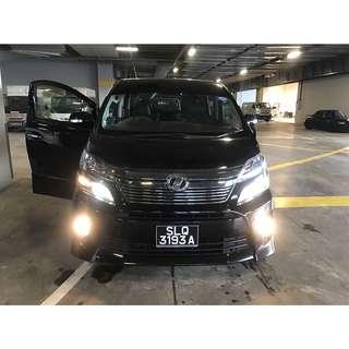 Toyota Vellfire Hybrid 2.4 Auto ZR