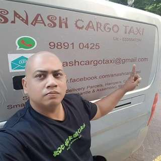 Snash Cargo Taxi Service (Van) And Delivery Service From $20**