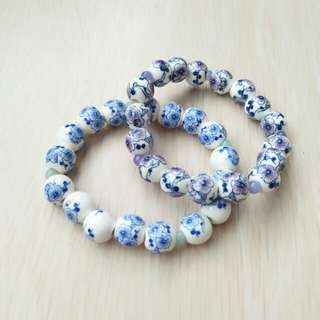 Hanaru Park Bracelet China Blue