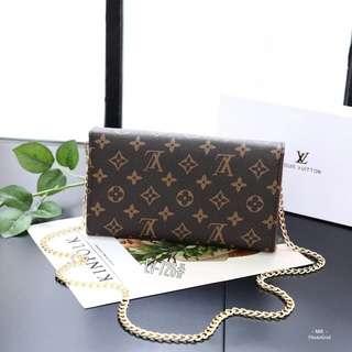 New Arrival Clutch Handbag 👝 Slingbag Lv Monogram Style Walet🎈