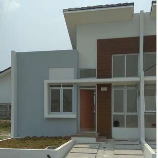 kontrak rumah citra maja raya real estate cluster greenland