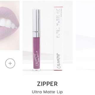 Colourpop Ultra Matte Lip in Zipper