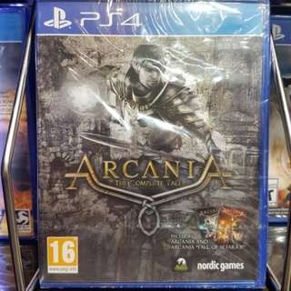 PS4 ArcaniA - The Complete Tale - Standard Edition
