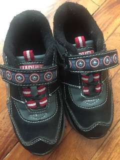 REPRICED US Original Marvel Captain America Rubber Shoes for Boys