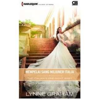 Ebook Mempelai Sang Miliuner Italia (The Italian's One-Night Baby) - Lynne Graham