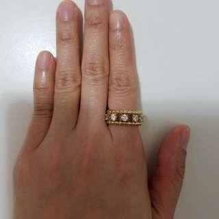 Arte 925 銀鑲鋯石戒指