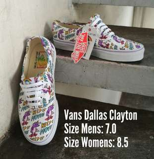 VANS DALLAS CLAYTON