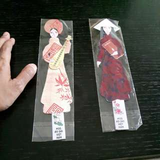 Vietnamese Girl Bookmarks