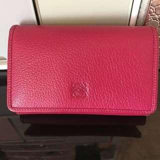 loewe wallet 銀包 chanel
