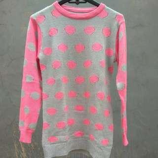 Sweater polcadot