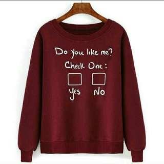 TiaCR G Sw Like Me sweater (no barter, no nego)