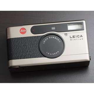 Leica Minilux (40mm f/2.4)