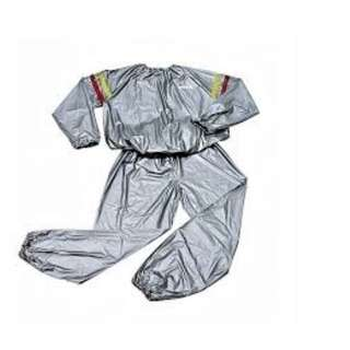 Pakaian Olah Raga Pelangsing Pembakar Lemak Sauna Suit Set Baju Celana