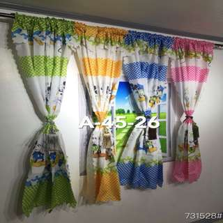Mickey Mouse Curtain Set 2 Piece
