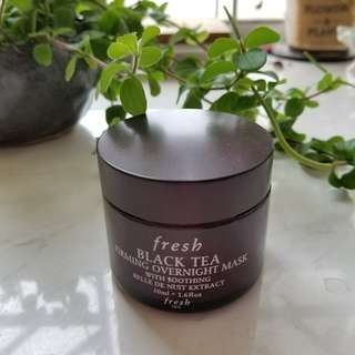 FRESH Black Tea Firming Overnight Mask 紅茶緊緻面膜