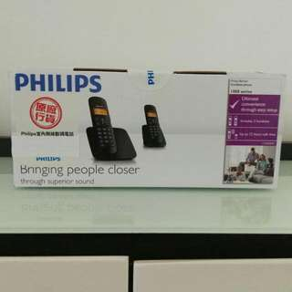 [New] Philips Cordless Phone CD180 子母機