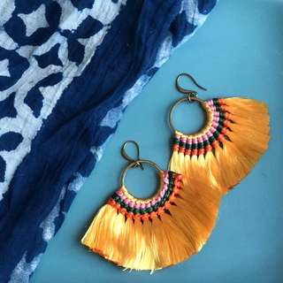 Carissa bohemian Tassel Earrings available SALE
