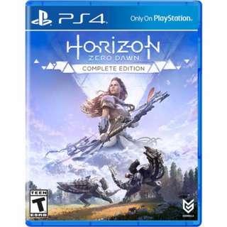 PS4 Game: Horizon Zero Dawn - Complete Edition (R1)