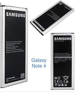 Samsung galaxy Note 4 battery class a
