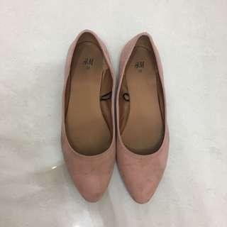 H&M平底鞋 (flat)