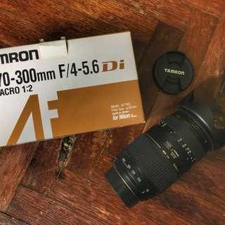 Tamron af70-300mm f/4-5.6 di ld macro 1 2