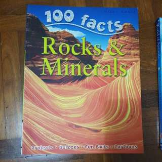100 facts about rocks and minerals