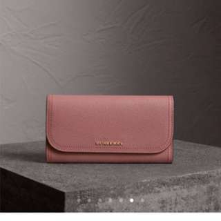 Burberry wallet 銀包 dusty pink