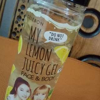 CELEBON - My Lemon Juicy Gel natural for face & body