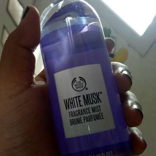 white musk the body shop 100ml