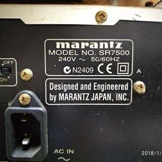 Marantz Amplifier SP-7500