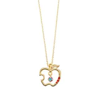 JAPAN DISNEYSTORE, JAPAN IMPORTED:  Necklace Series - Snow White Apple of love necklace