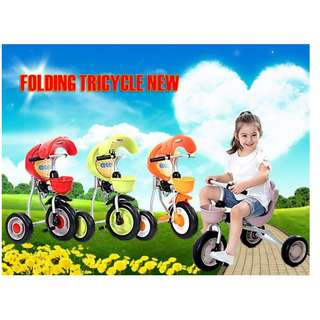 READY STOCK  FOLDING TRICYCLE