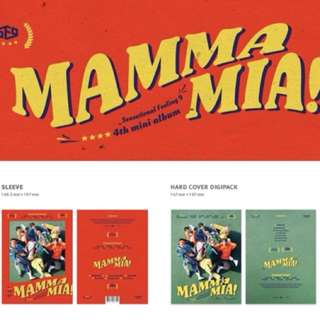 [ pre order ] SF9 4th mini album Mamma Mia