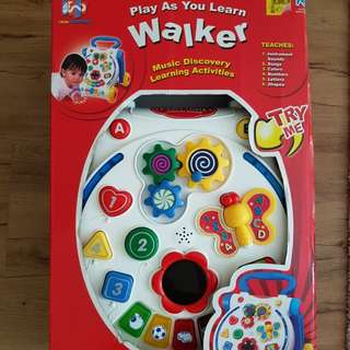 2in1 Walker and Activity Table